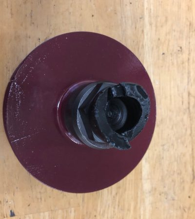 MG TC- TD Crank Pulley with Bolt
