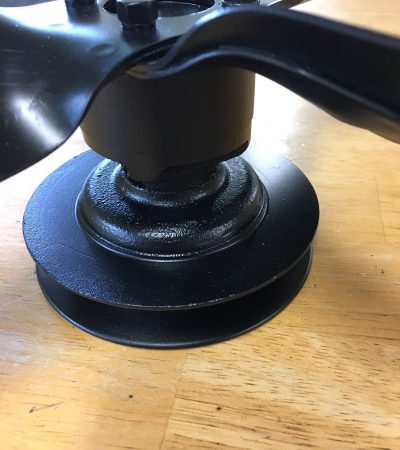 MG TD-TF Water Pump Pulley Assembly with spacer and Fan Blades