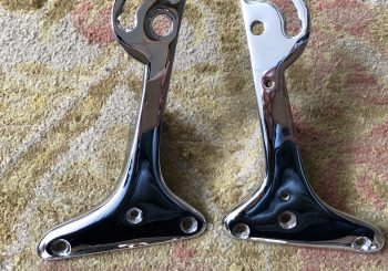 MG TC Windshield Mounting Brackets